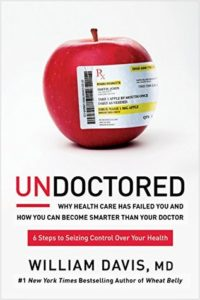Read more about the article Book Review -UNDOCTORED: How You Can Seize Control of Your Health and Become Smarter Than Your Doctor by William Davis, MD.