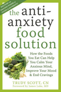 Read more about the article Book Review: The Anti-Anxiety Food Solution -by Trudy Scott, CN